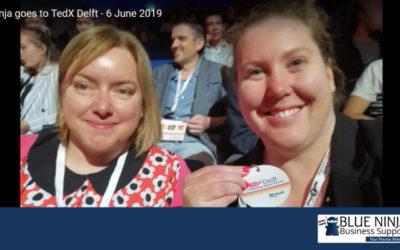 Blue Ninja goes to TedX Delft – 6 June 2019