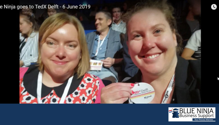 Blue Ninja goes to TedX Delft – 6 June 2019