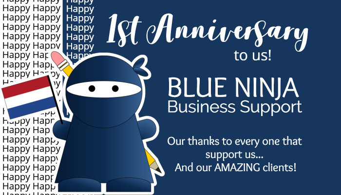 Blue Ninja are celebrating one year of partnership