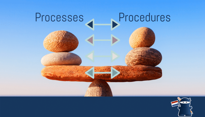 What are the Differences Between Processes and Procedures?