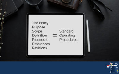 How to write a SOP – Standard Operating Procedure
