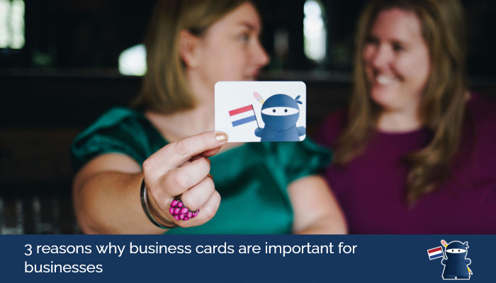 3 reasons why business cards are important for businesses