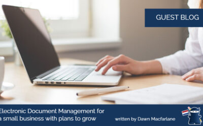 Electronic Document Management for a small business with plans to grow