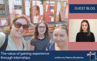 The value of gaining experience through internships – written by Marina Bendelow