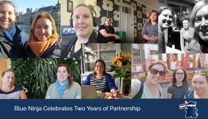 Blue Ninja Celebrates Two Years of Partnership
