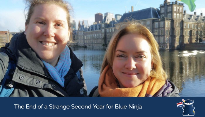 The End of a Strange Second Year for Blue Ninja