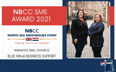 Blue Ninja receives NBCC Award Nomination for the second year running
